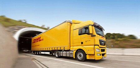 Image result for DHL busje